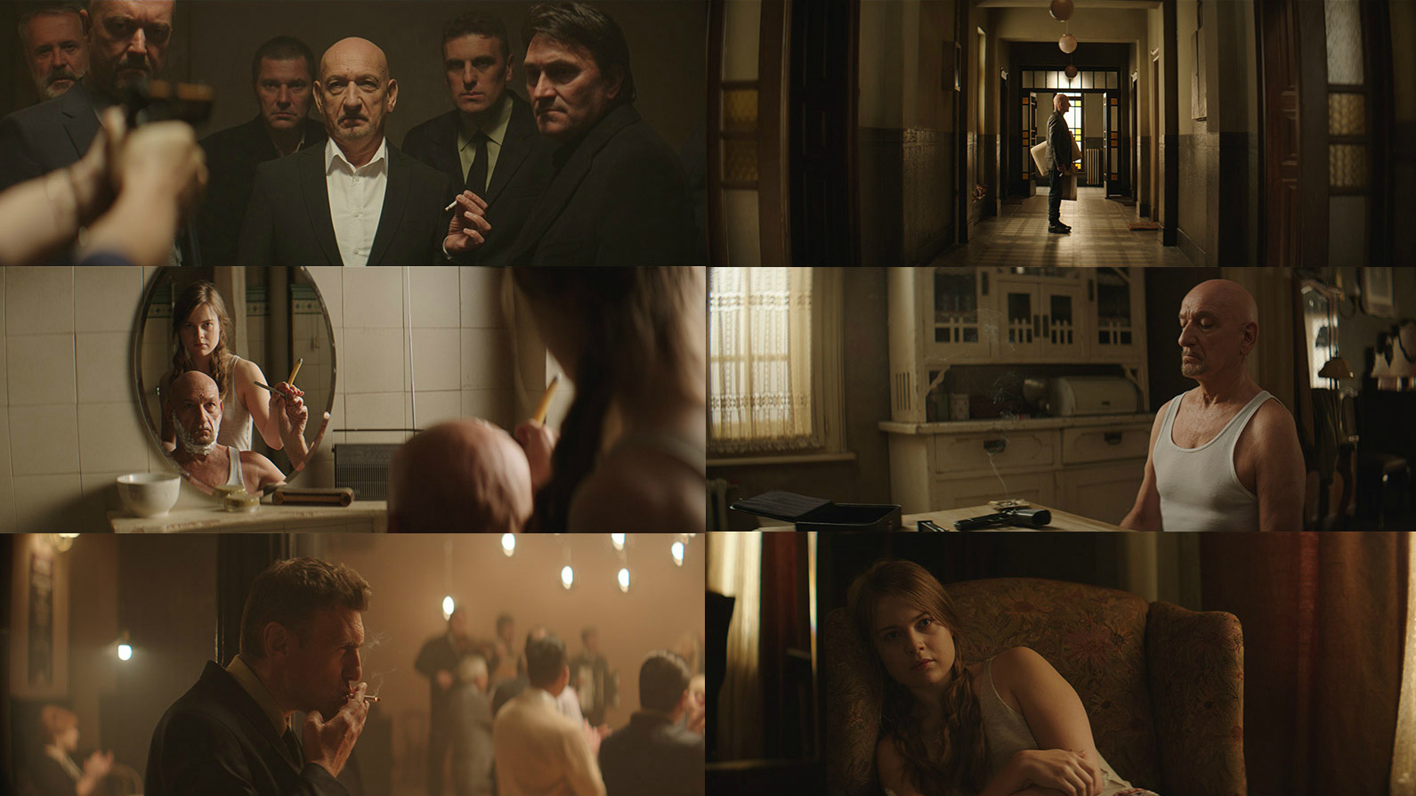 Production stills from An Ordinary Man directed by Brad Silberling - courtesy of Saben Films / Netflix