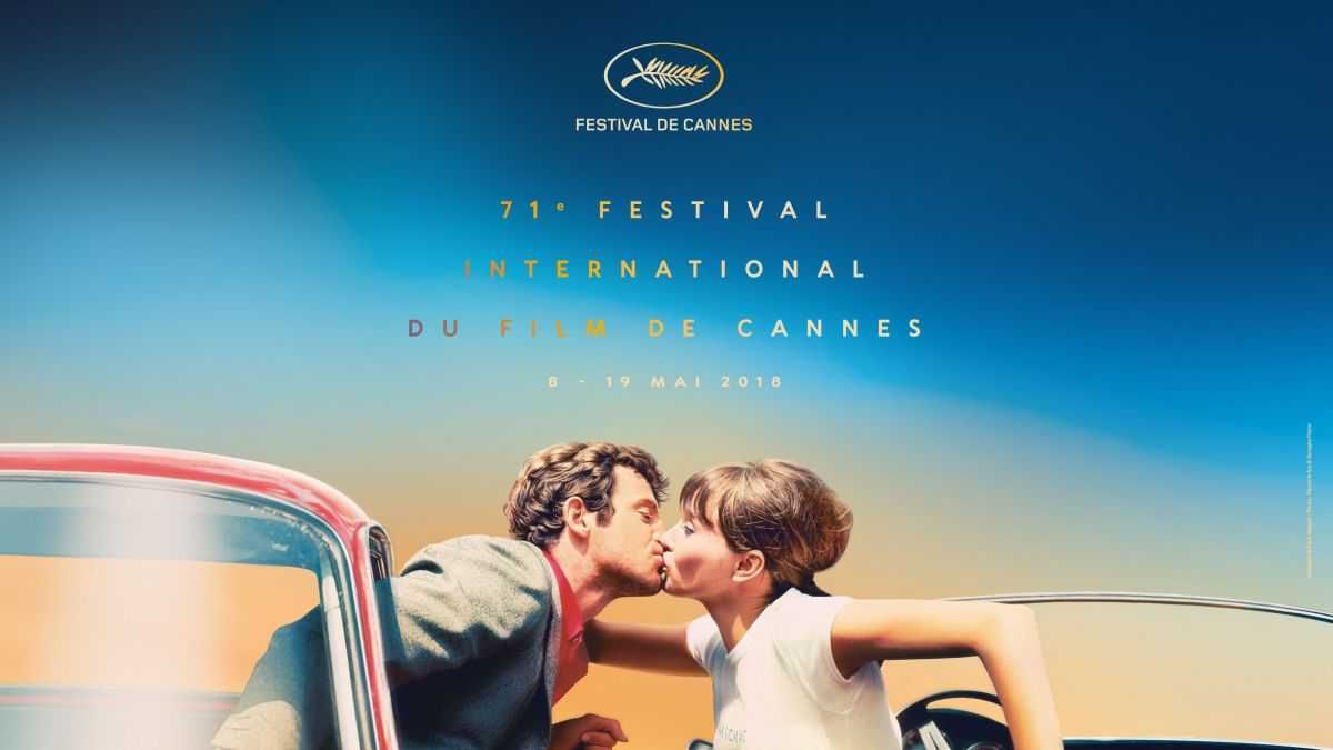 2018 official Poster © Design : Flore Maquin - Photo : Pierrot le fou © Georges Pierre