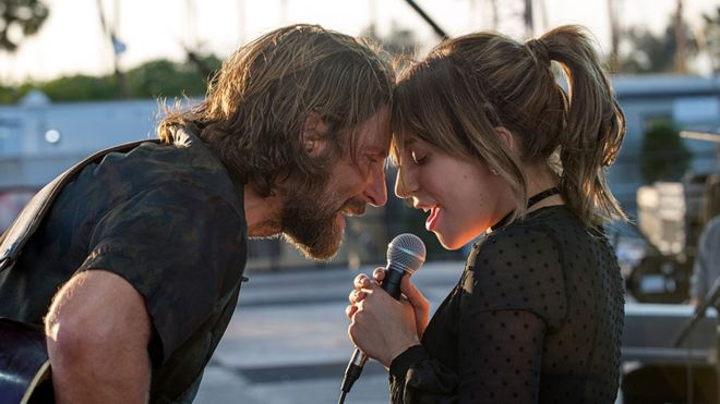 A Star Is Born  (2018) Feat. Bradley Cooper as Jackson Maine and Lady Gaga as Ally - courtesy of Warner Bros.