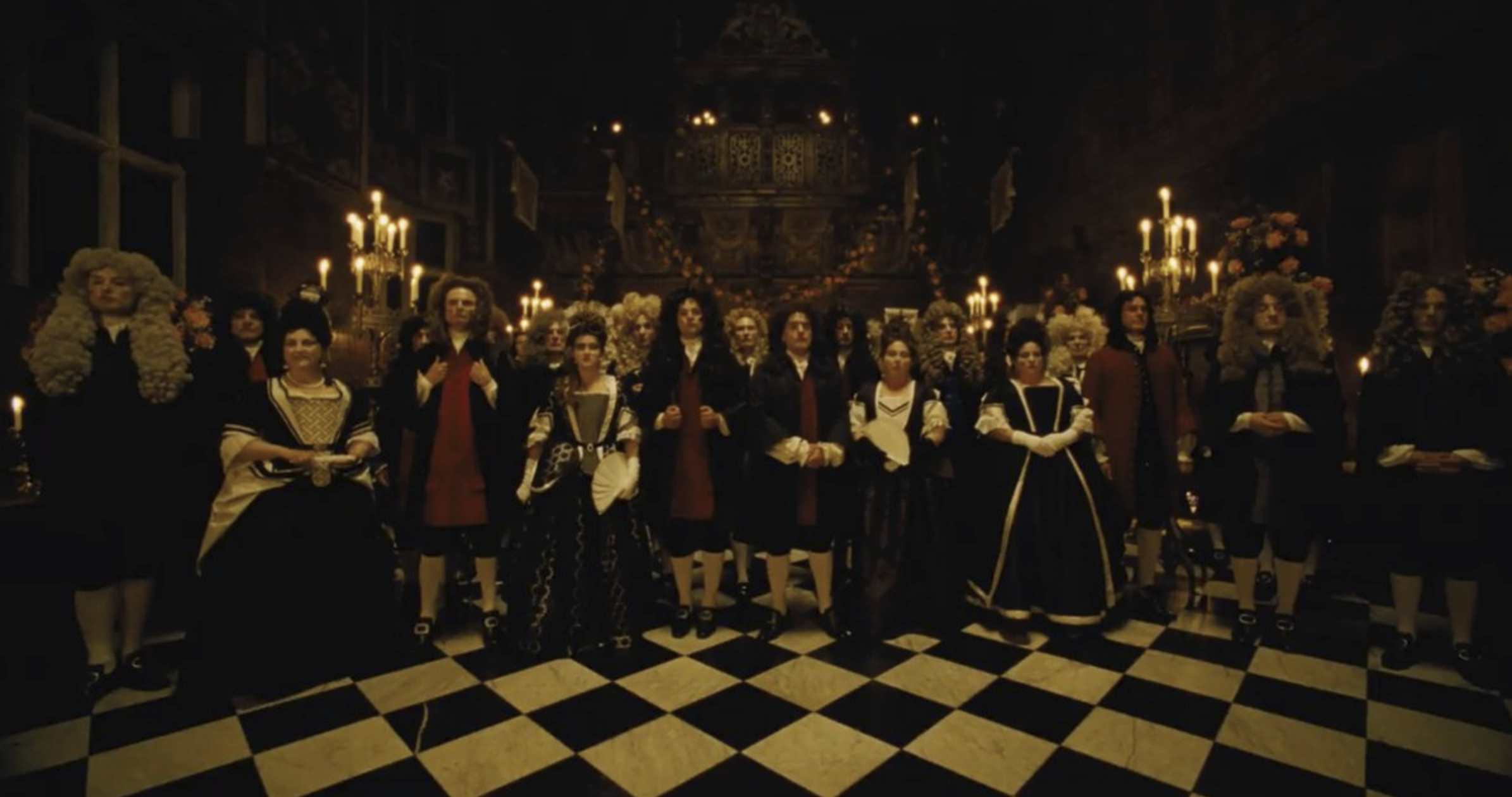 The Favourite  (2018) - courtesy of Fox Searchlight Pictures