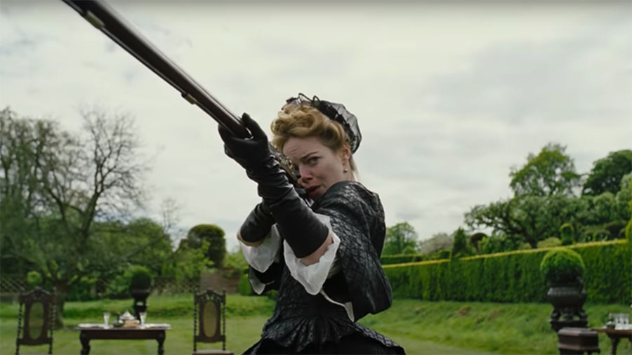 The Favourite  (2018) feat. Emma Stone as Abigail - courtesy of Fox Searchlight Pictures