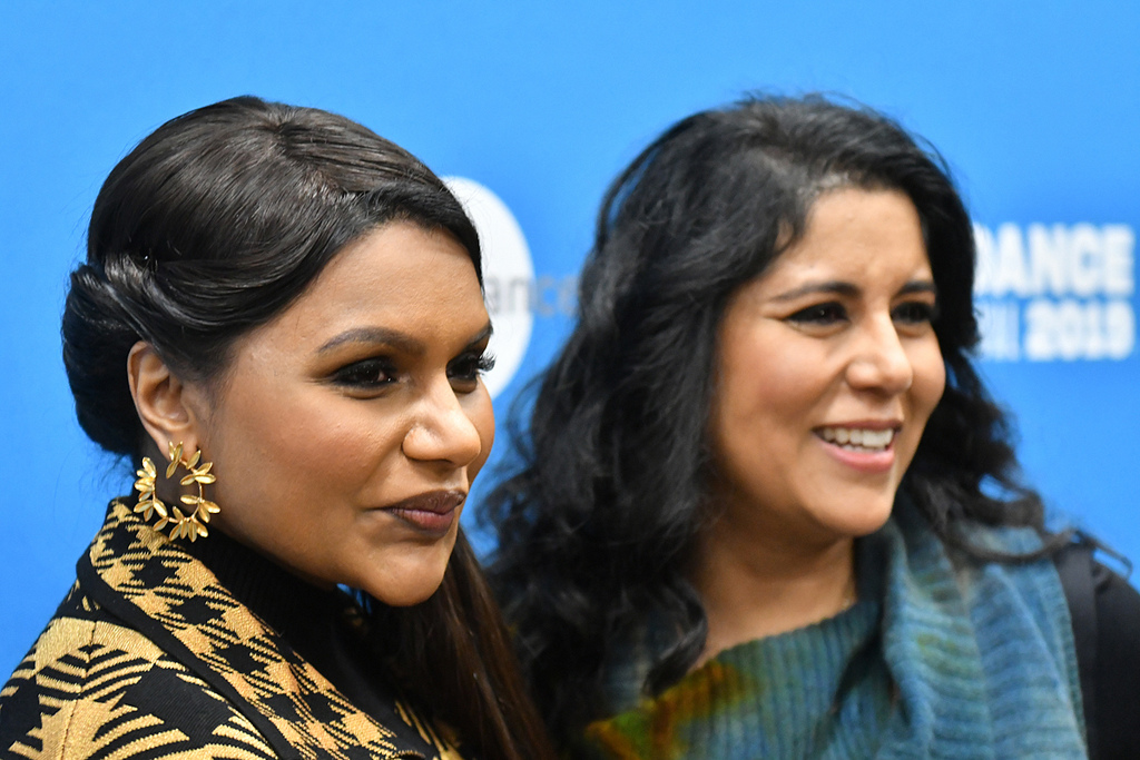 Actor Mindy Kaling and director Nisha Ganatra attend the World Premiere of  Late Night  - Courtesy of the Sundance Institute