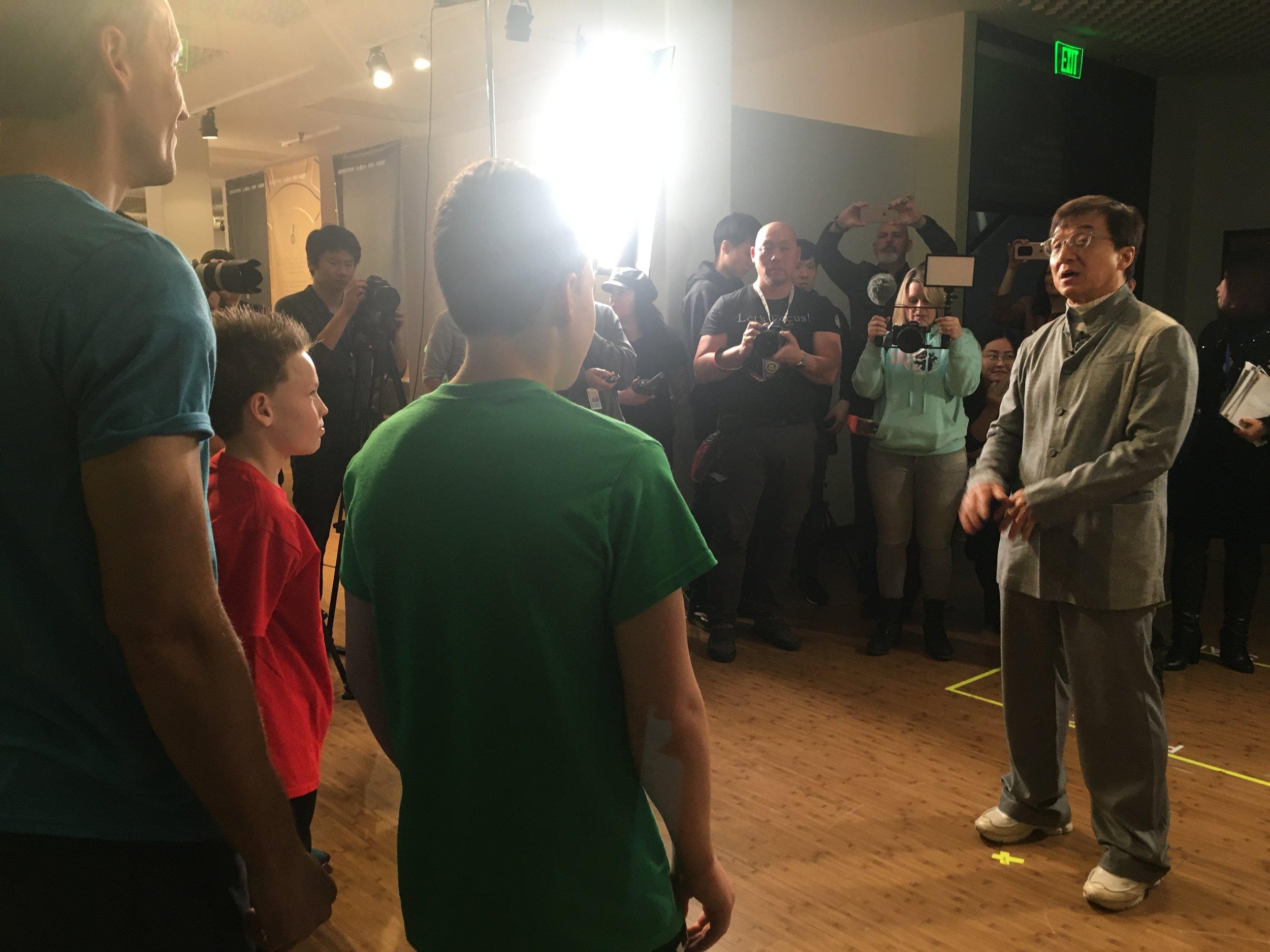 Jackie Chan: Green Hero  exhibit press event - © I AM FILM 2019