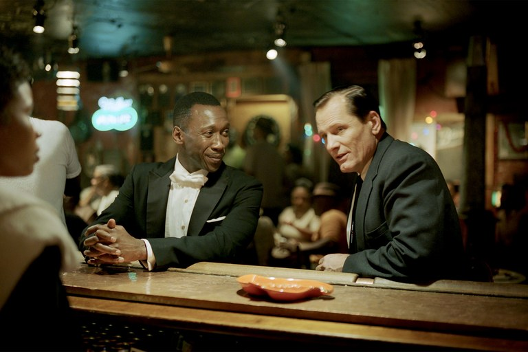 Mahershala Ali and Viggo Mortenson in  Green Book  (2018) -   Universal Pictures