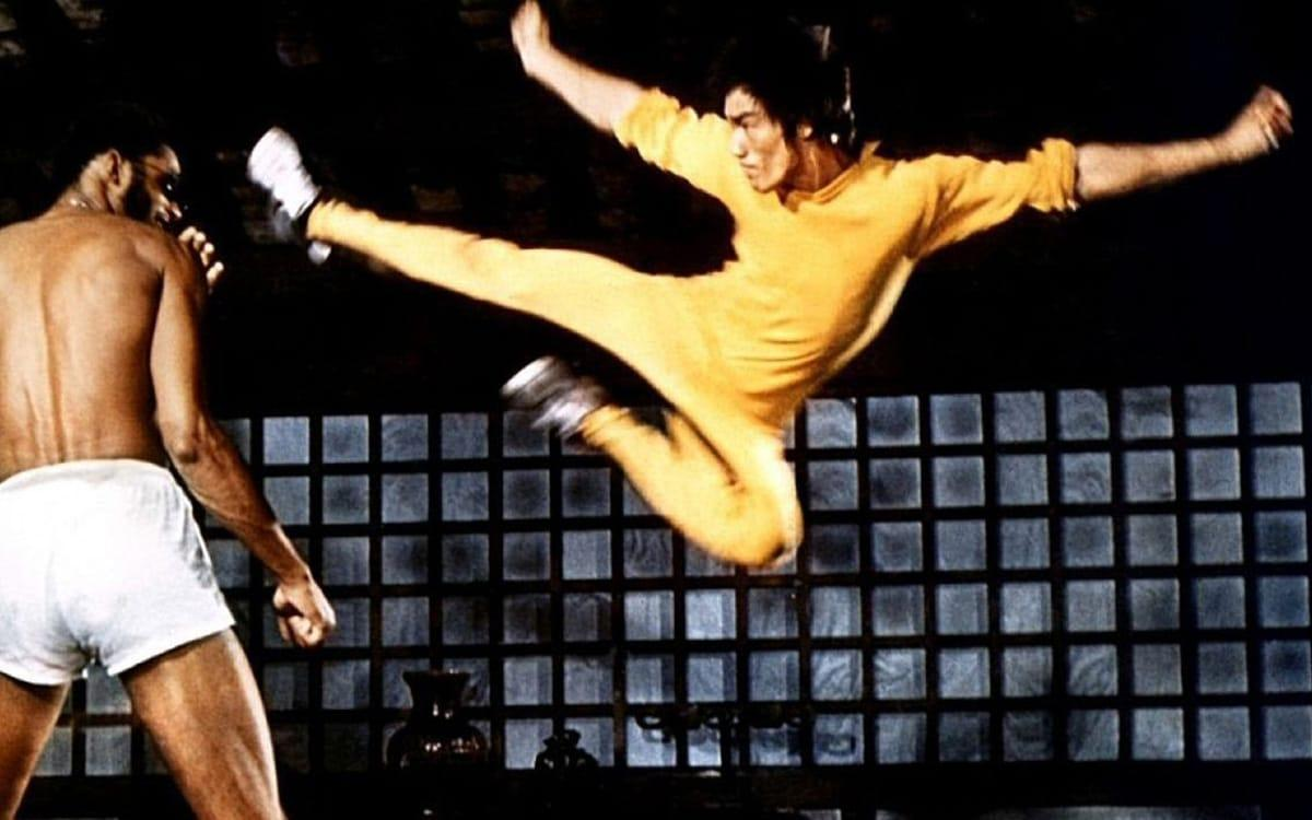 Feat. Bruce Lee and Kareem Abdul- Jabbar in  Game of Death  (1978)