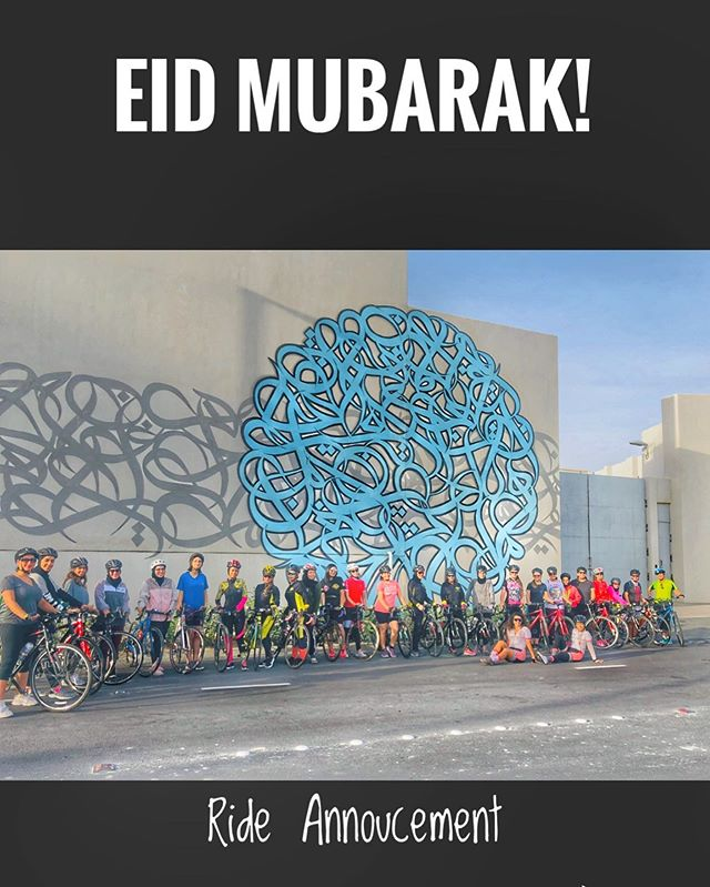 Eid Mubarak everyone from the Bees! Our Eid Ride will be on Friday 5.30am towards Budaiya port, northen City , Saar and back for some breakfast at Cycling Bees Home! Please let us know if you are joining.        CYCLINGBEES RIDES