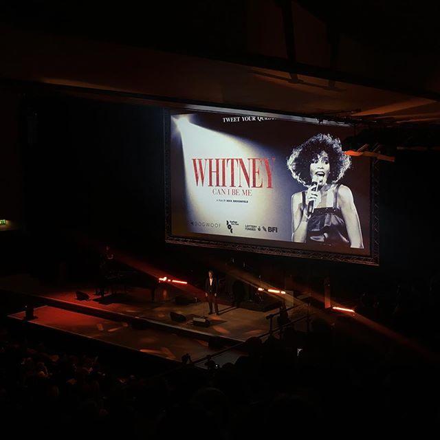 World premiere of Nick Broomfield's Whitney 👏 🎶 #sheffielddocfest #nickbroomfield