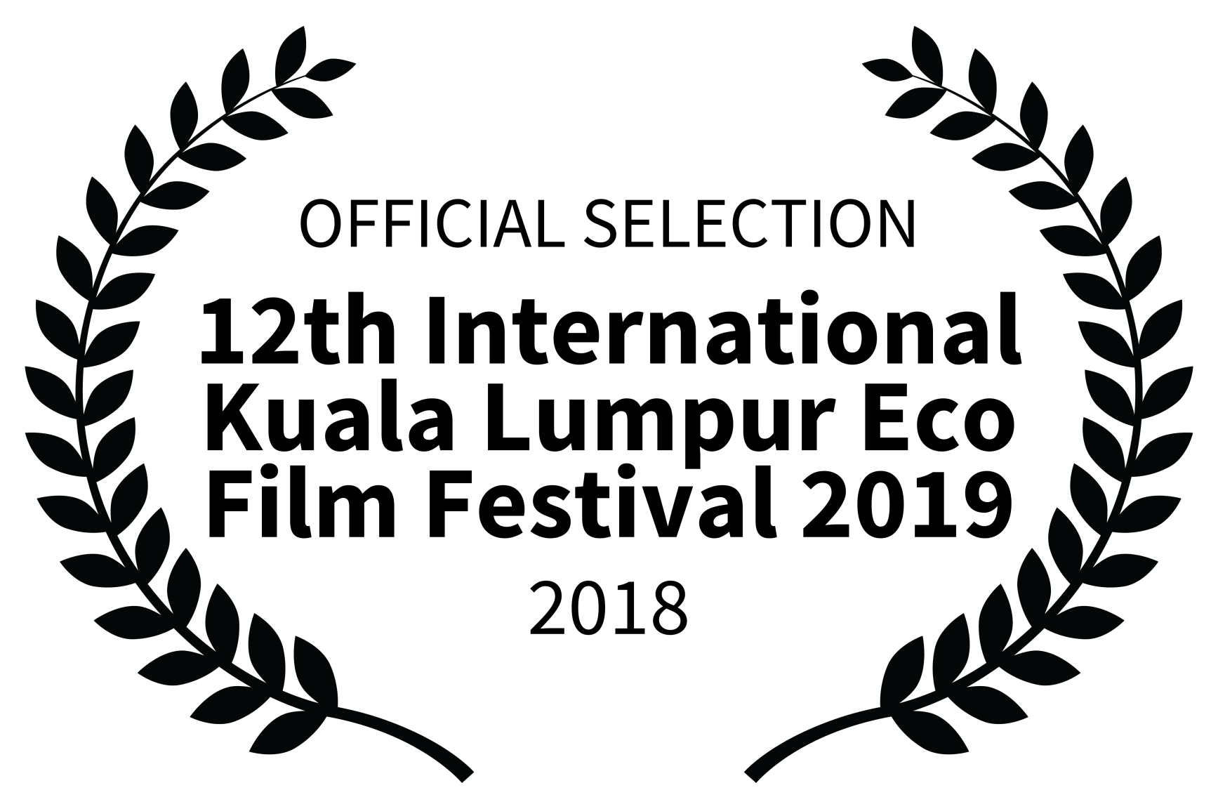 OFFICIAL SELECTION - 12th International Kuala Lumpur Eco Film Festival 2019 - 2018.png
