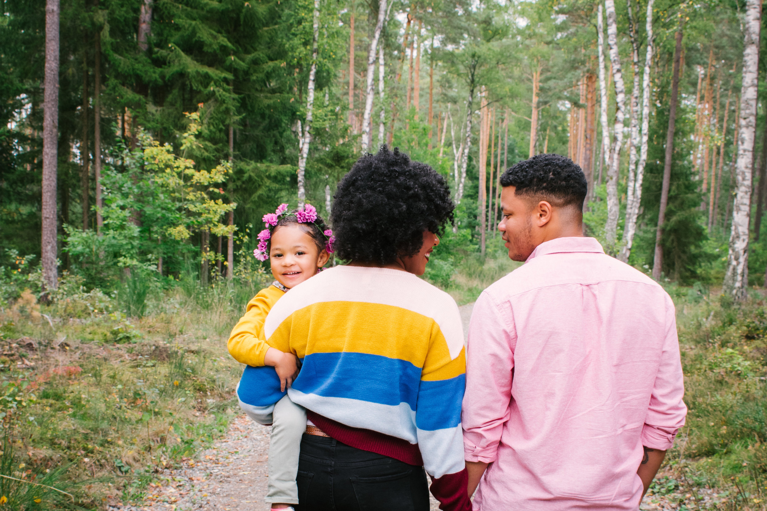 The Allen Family- Forest Photo Shoot