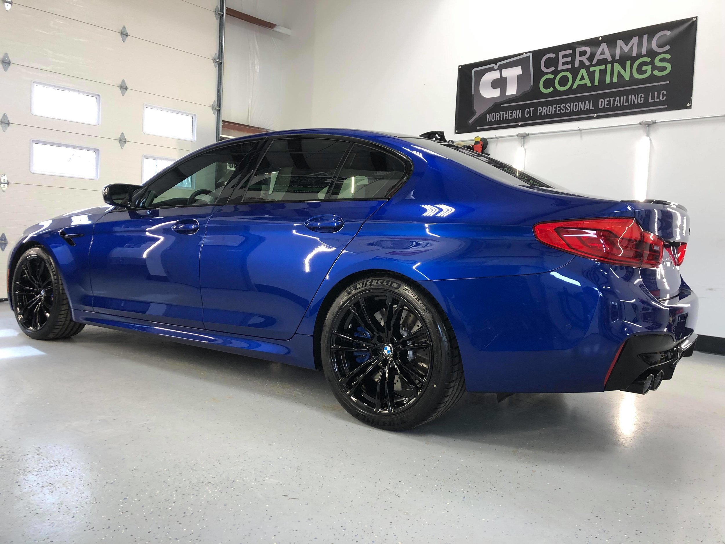 BMW M% with 3M Paint Protection Film