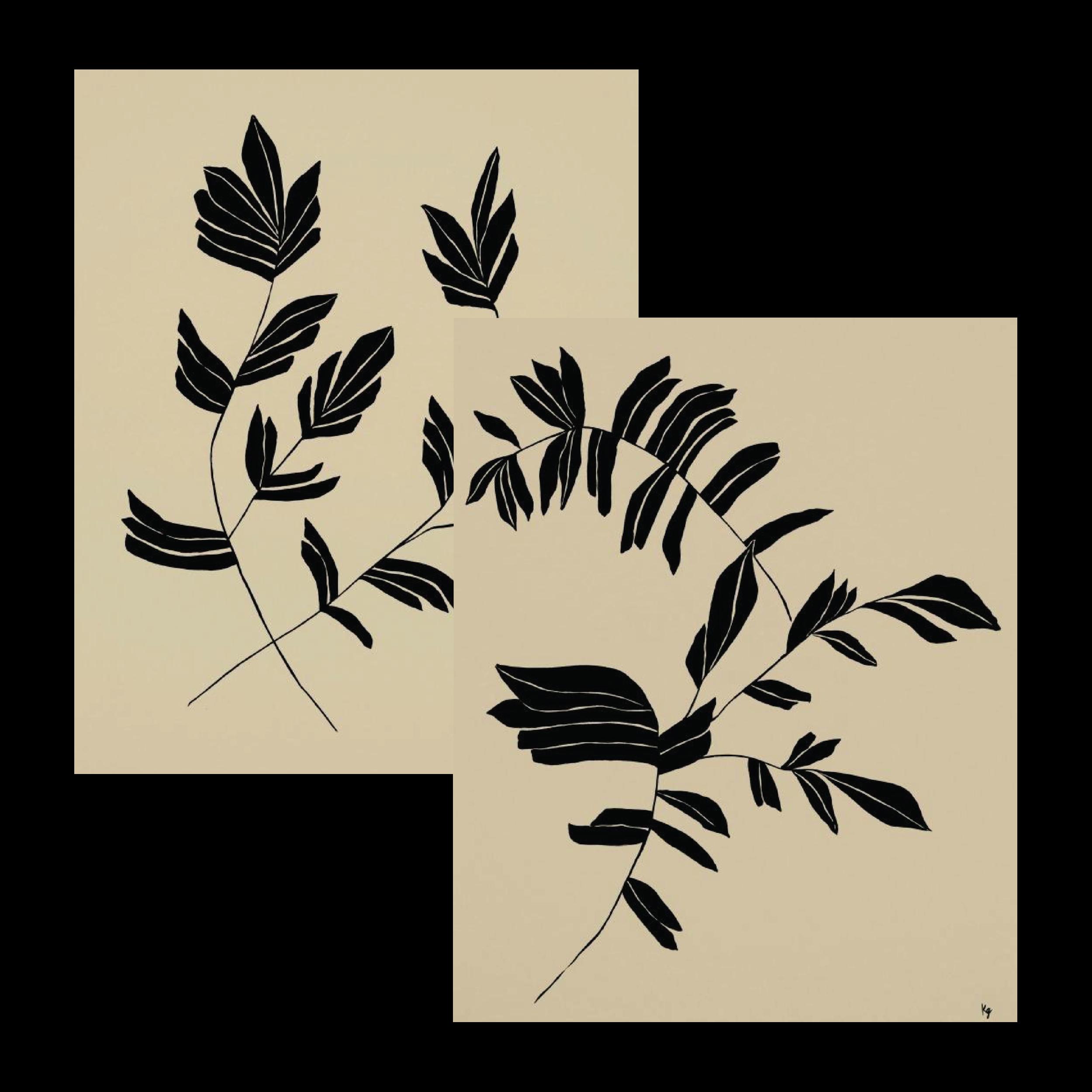 Botanical I & II — $20 each