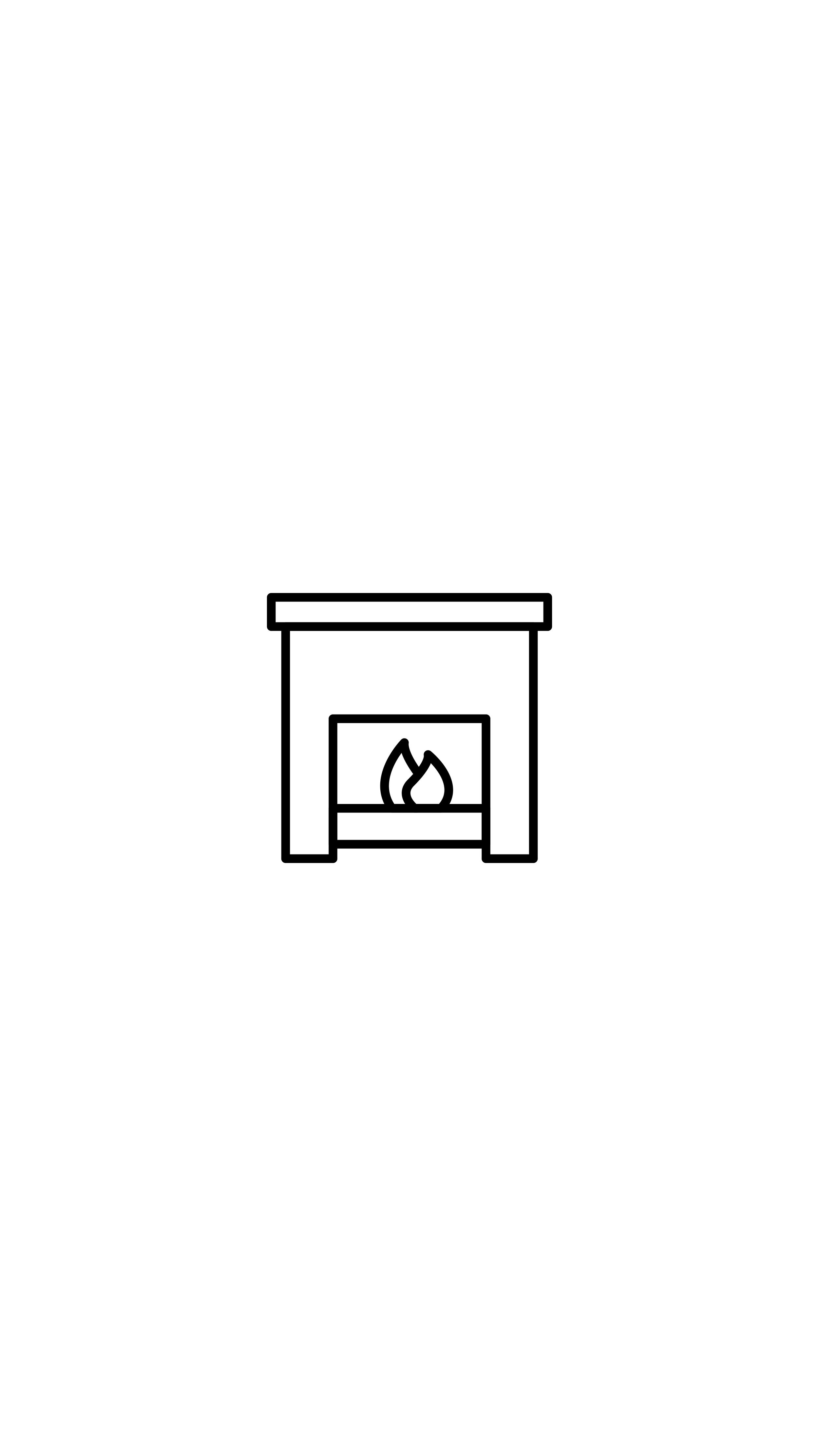 Fireplace, Mantel