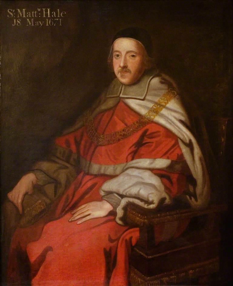 Sir Matthew Hale rocking his seventeenth century logic and a ravishing red robe.
