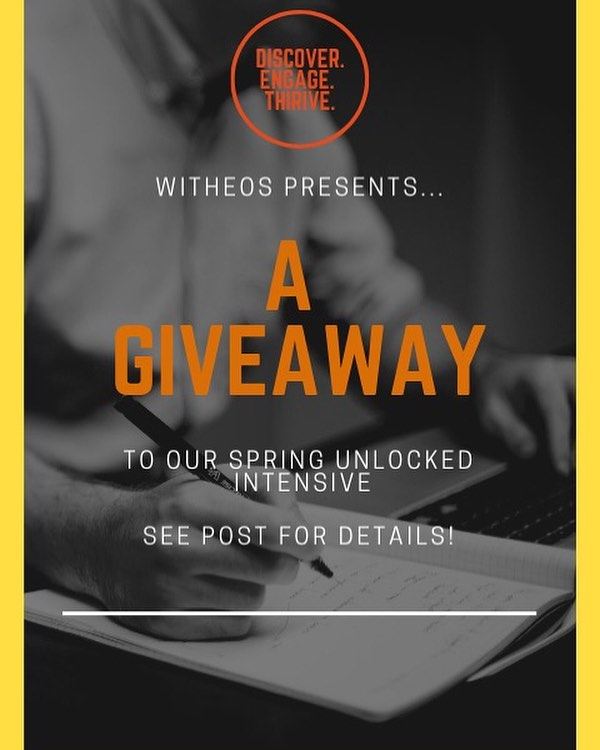 Big news! We're hosting our first #GIVEAWAY 🎉🎉 — From now until April 1st (but this is no joke) tag a friend in this post and tell them why you want to come to our next Unlocked Intensive, happening April 12th and 13th and you could win a free ticket! — Here's the deal: - 1 FREE ticket to our next Unlocked Intensive! - Follow @witheosdiscover and like us on Facebook! - Tag your friends below, we want to see your people, and share with them a life of discovering, engaging, and thriving. - 1 winner will be announced on Instagram, and one on Facebook at 6pm on Monday, April 1st! — #christianconference #witheosdiscover #faithbased #cincinnatiohio #thriveexperience