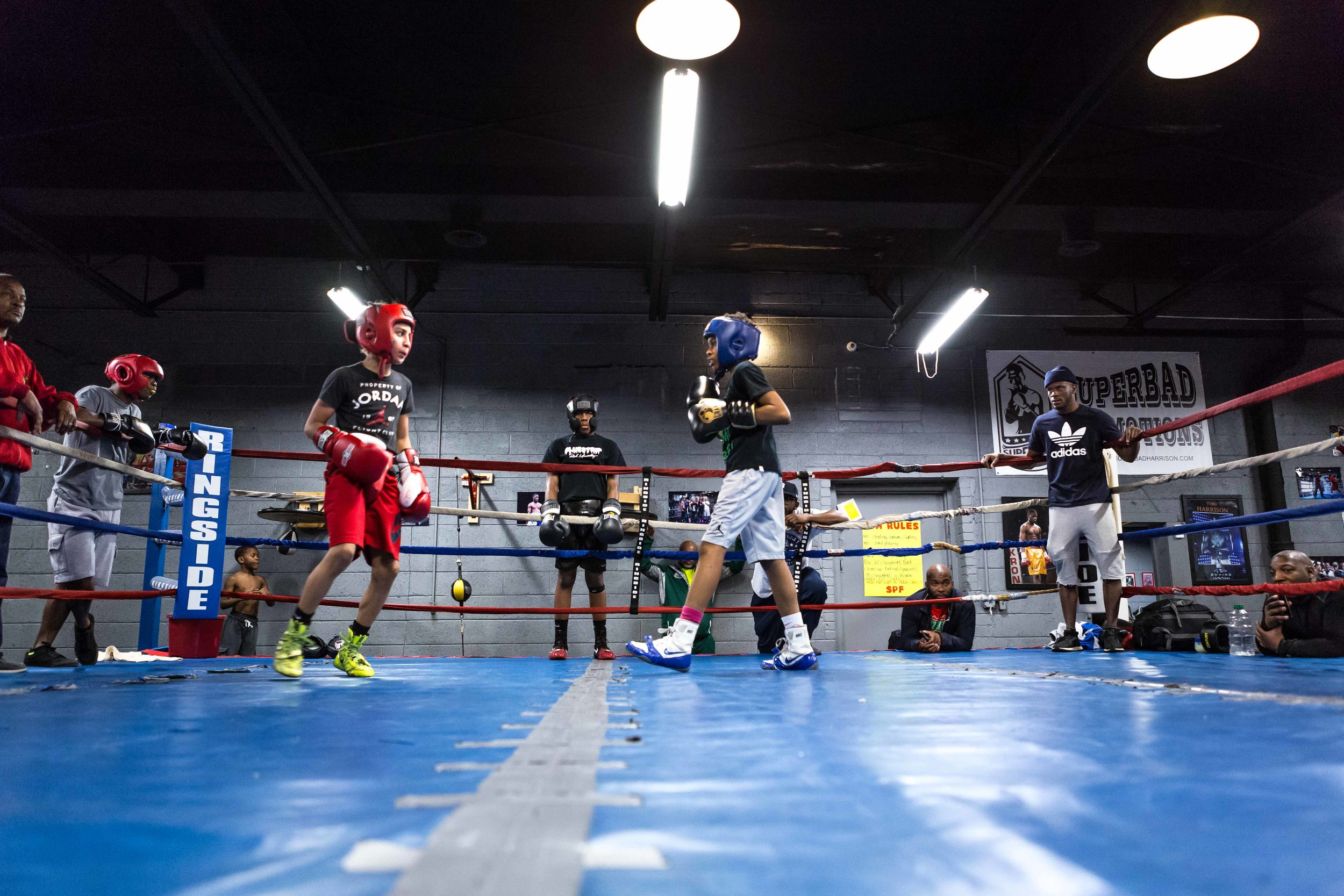 Boxing is one  -