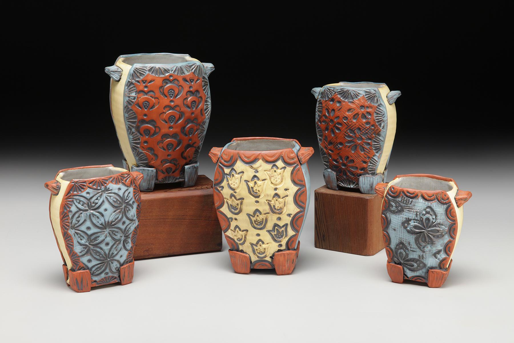 Amy Sanders Altered Vases.jpg
