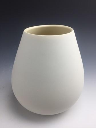 "Jeannine Marchand  Form, 8"" x 7.5"" x 7.5""  Retail Value: $275"