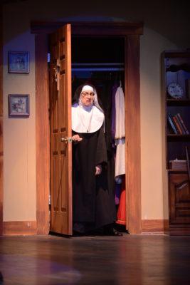 Natascha Girgis at Sister Augusta (photo credit: John Watson)