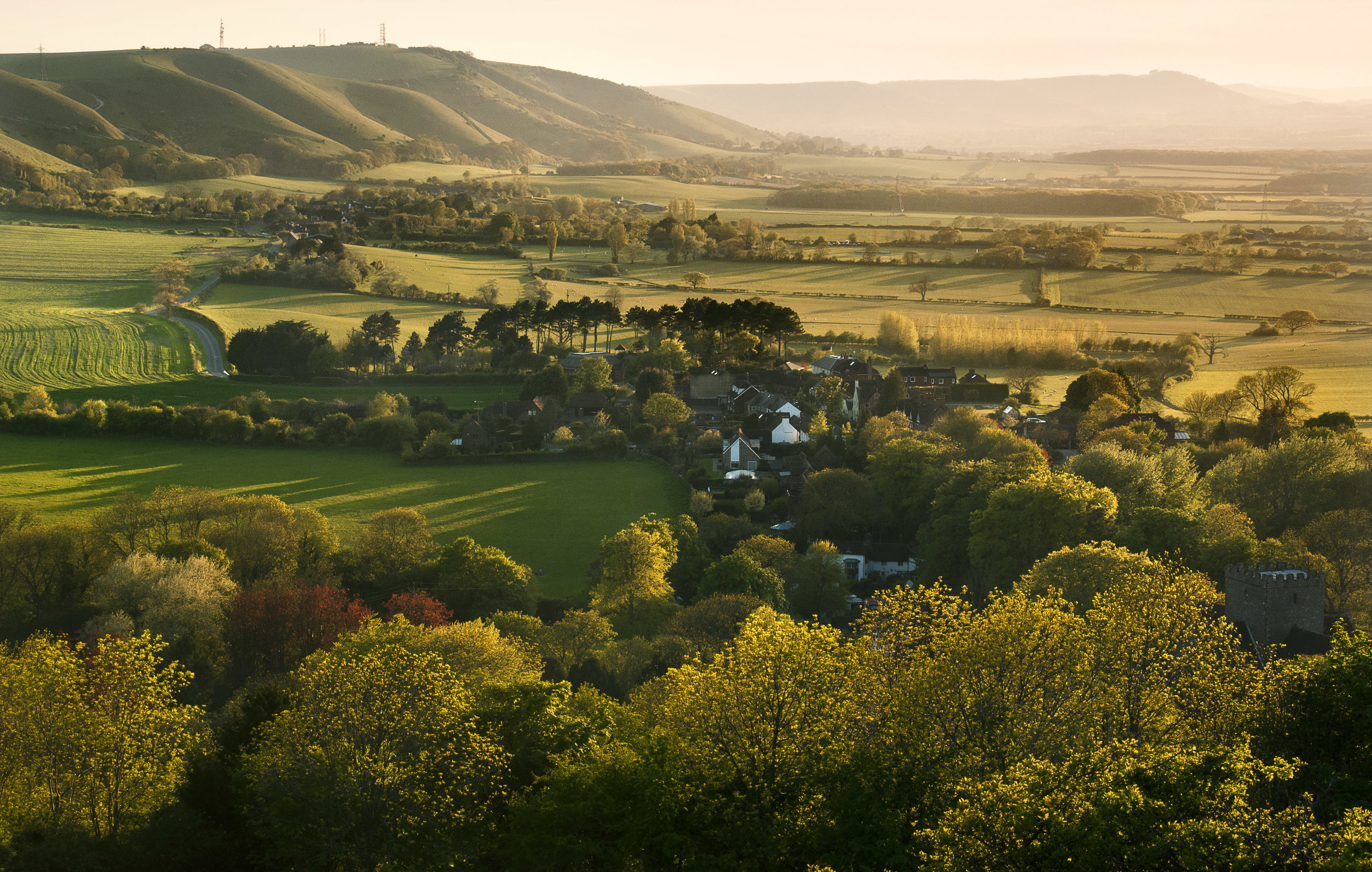 Take a weekend for you in the heart of the South Downs. -