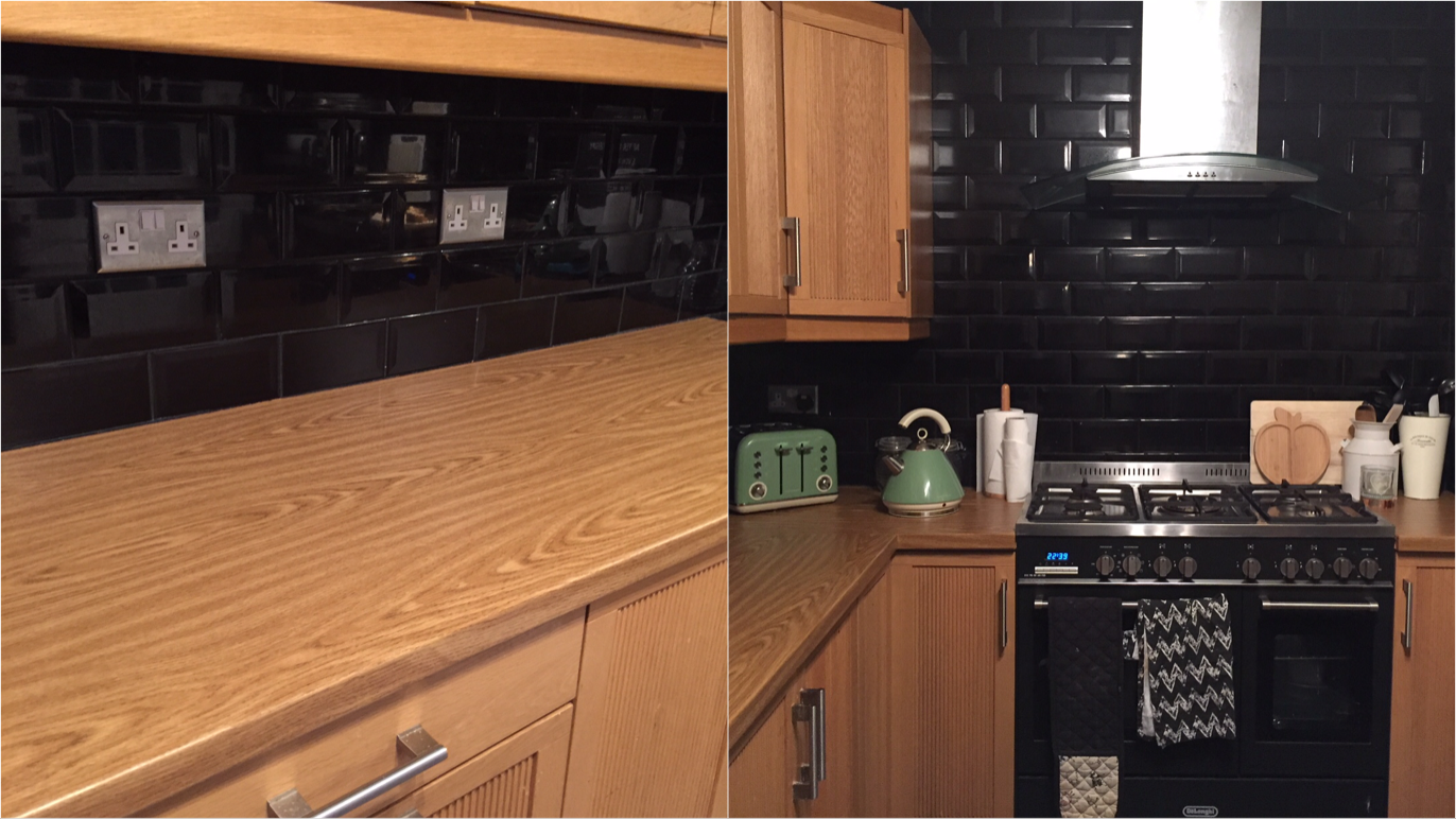 Excuse the poor picture quality but these were taken just after the worktops were finished.