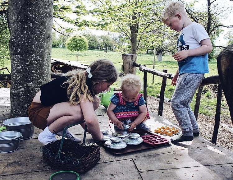 Cambo Estate- the kids adore this natural play park, we love how they use their imagination to play and make up games together