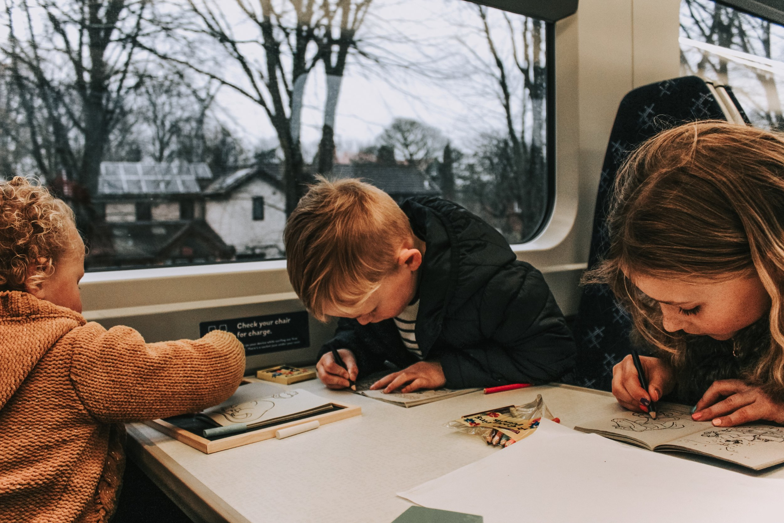 Scot Rail journey 'Kids For a Quid'