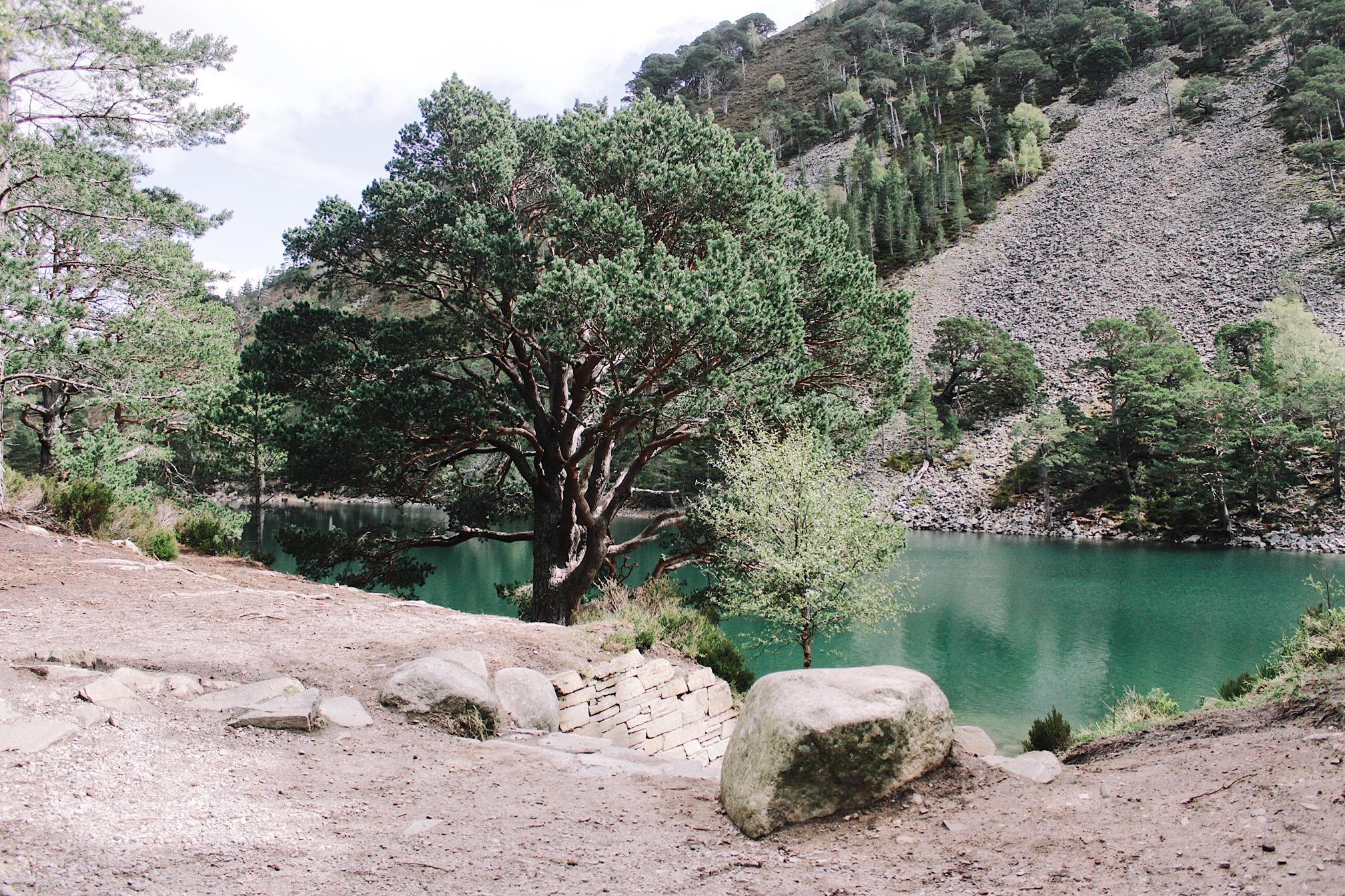 The Green Loch, Lochan Uaine, Aviemore