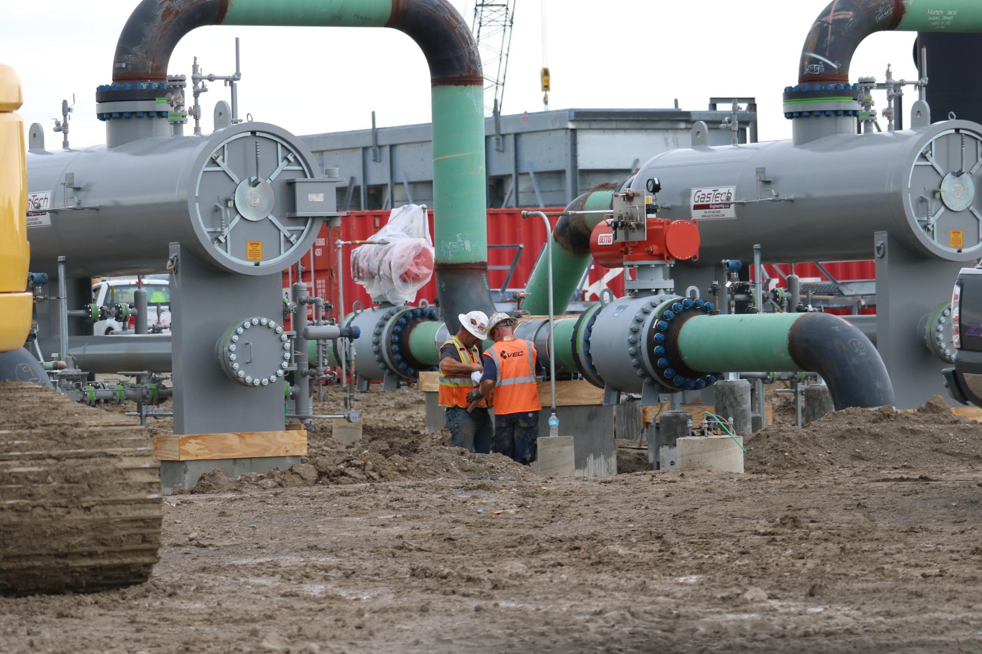 Filter Separators on the PEPL Meter Site.