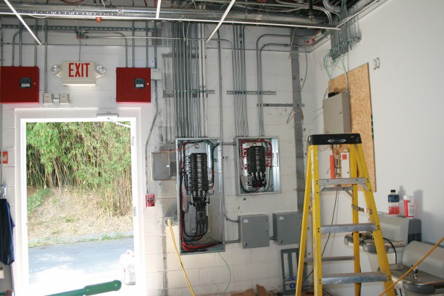 commercial wiring rough in commercial   industrial     fisher electrical services inc  fisher electrical services inc