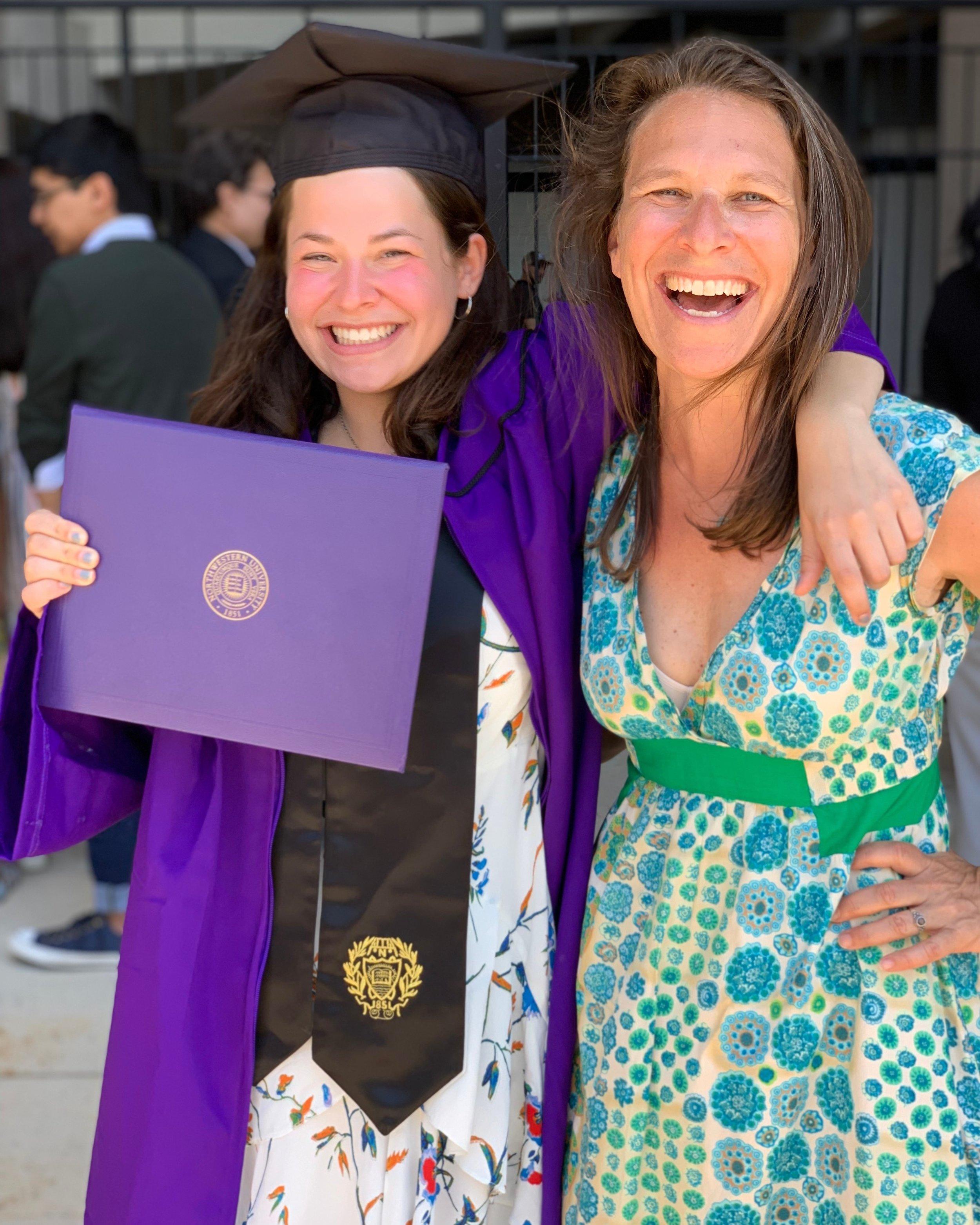 Deb & Sasha NU graduation.JPG