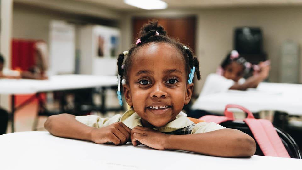 Kids in North Tulsa. Education, literacy, math, STEM, science.