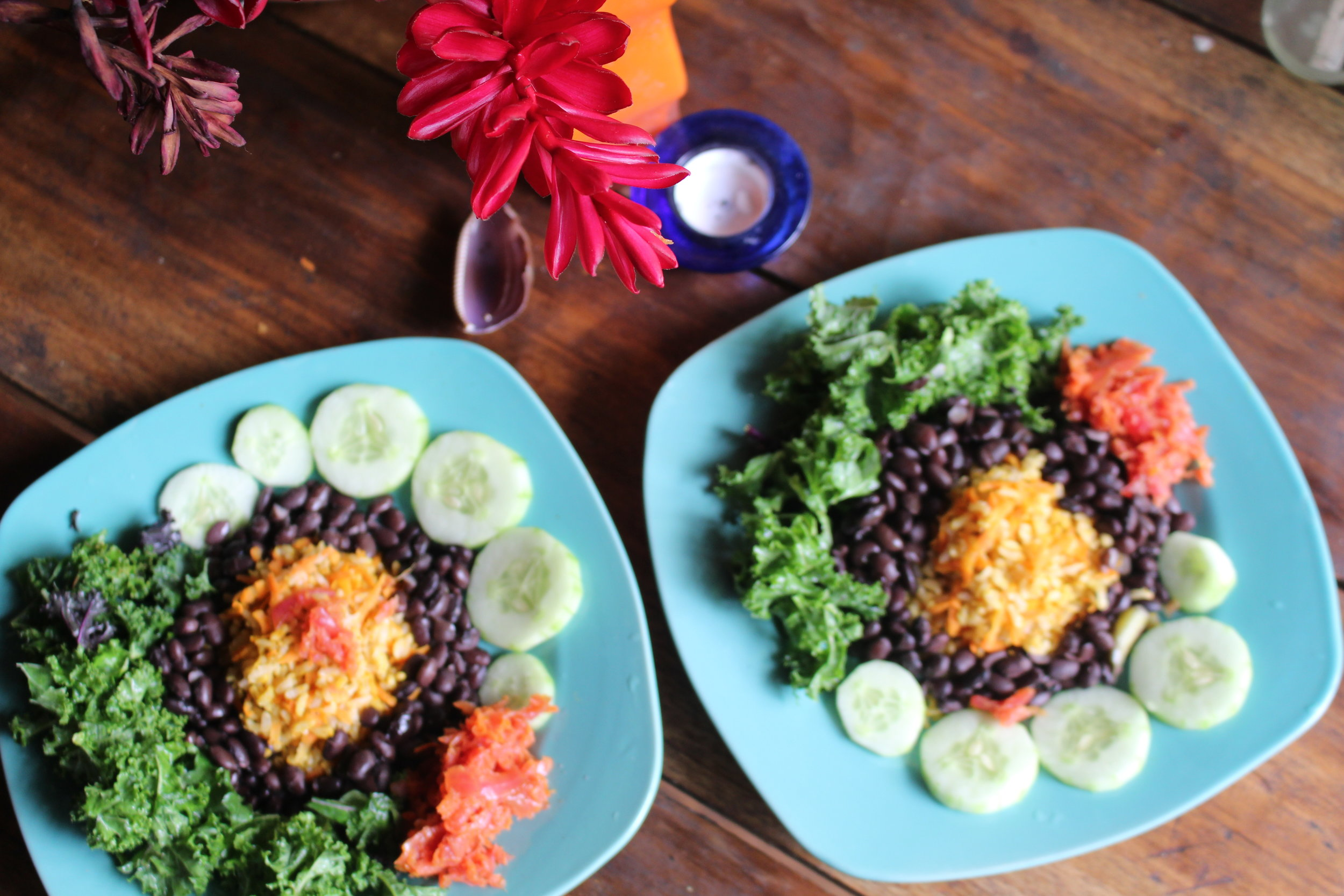 Rice & Beans - Our Staple