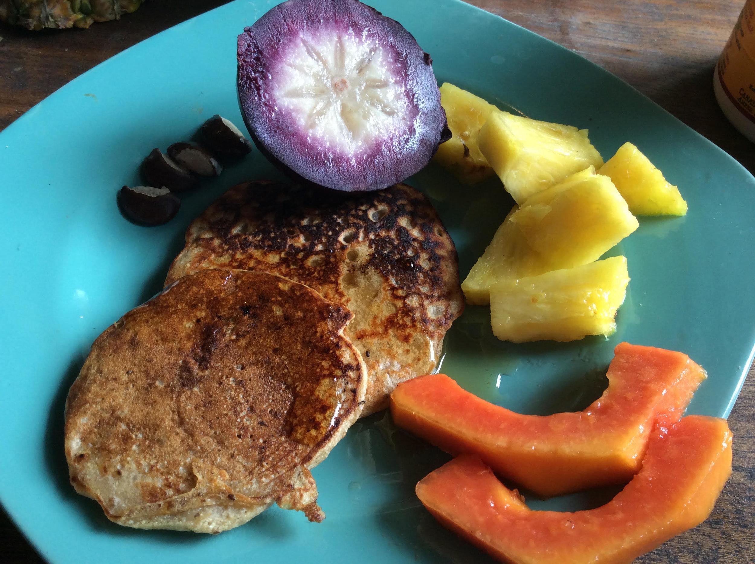 breadfruit pancakes