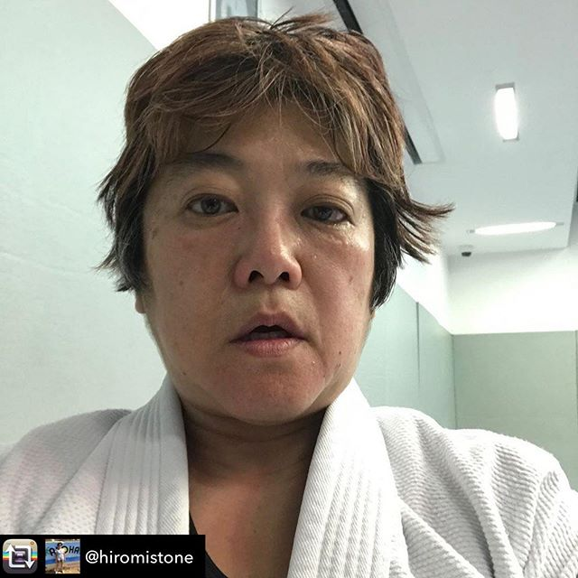 Nothing else that happened today is as important to me as my jiu jitsu anniversary so that's my photo for today.  It's changed my life and has become such a big part of it 😃 It's never too late to start something new, in business and in life. Repost from @hiromistone using @RepostRegramApp -