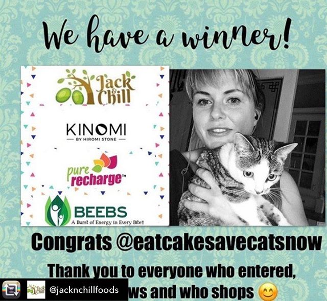 Repost from @jacknchillfoods using @RepostRegramApp - The competition is officially over! 🏆  Thank you all so much for taking part!  Our lucky winner is @eatcakesavecatsnow !!! 👏🌟🎉 DM us by 9am tomorrow with your full name and address so we can send you your prizes! ✨  #jackandchill #miraclejackfruit #vegetarian #veganfood  #meatfree #meatlovers #glutenfree #plantbaseddiet #flexitarian #giveaway #competition #trysomethingnew #Jackfruit #vegan #plantbased #meals #plantbased #vgang #healthy #healthyeats #healthyliving #healthylifestyle #instafood #pulledjackfruit #vegannoms