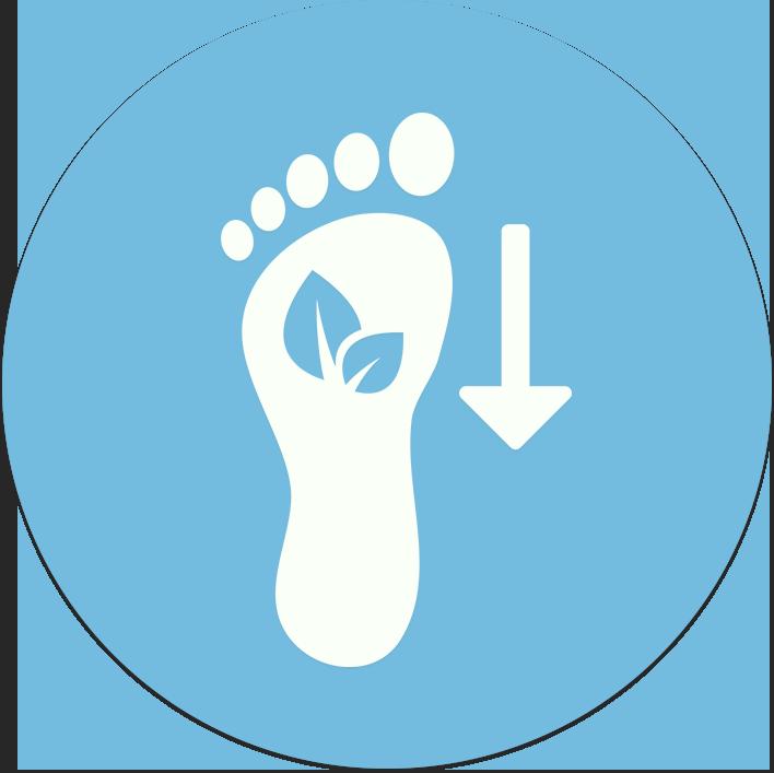 Lower Carbon Footprint -