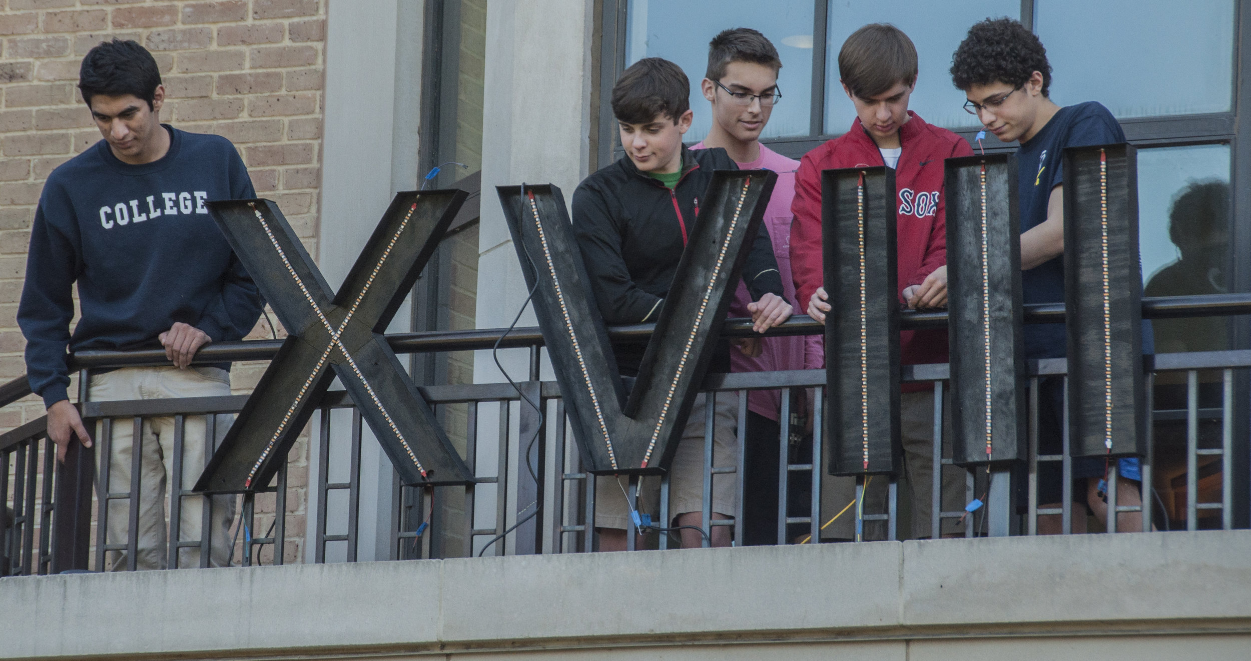 """I was helping set up the light-up 'XVIII' sign because, honestly, no class has done anything like that before,"" senior Jack Parolisi said. ""It's definitely going to be remembered for years to come."""