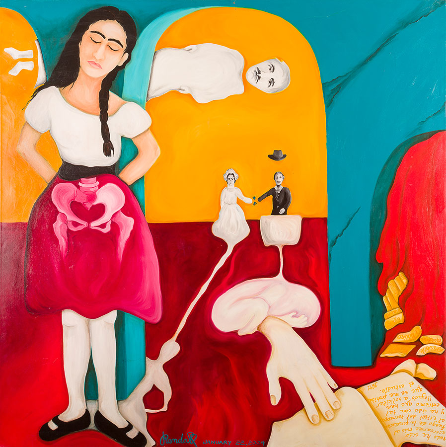 Sor Juana Ines De La Cruz Jennifer Randall Artist
