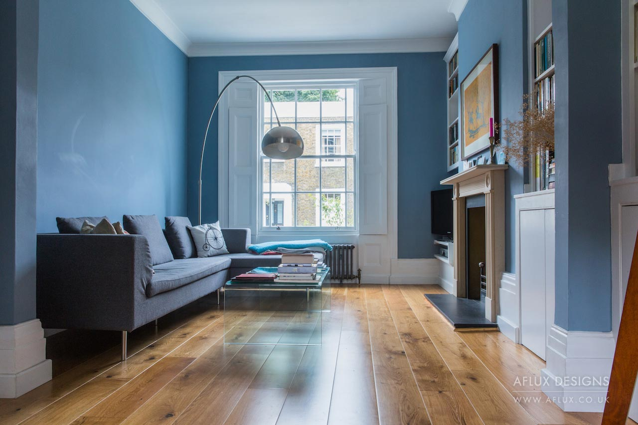 Highbury - LONDON N1A grade ll listed building with wonderful character inside and out, refurbished fully with a large lower ground extension, rear garden and 'live in' one bed apartment at the back!
