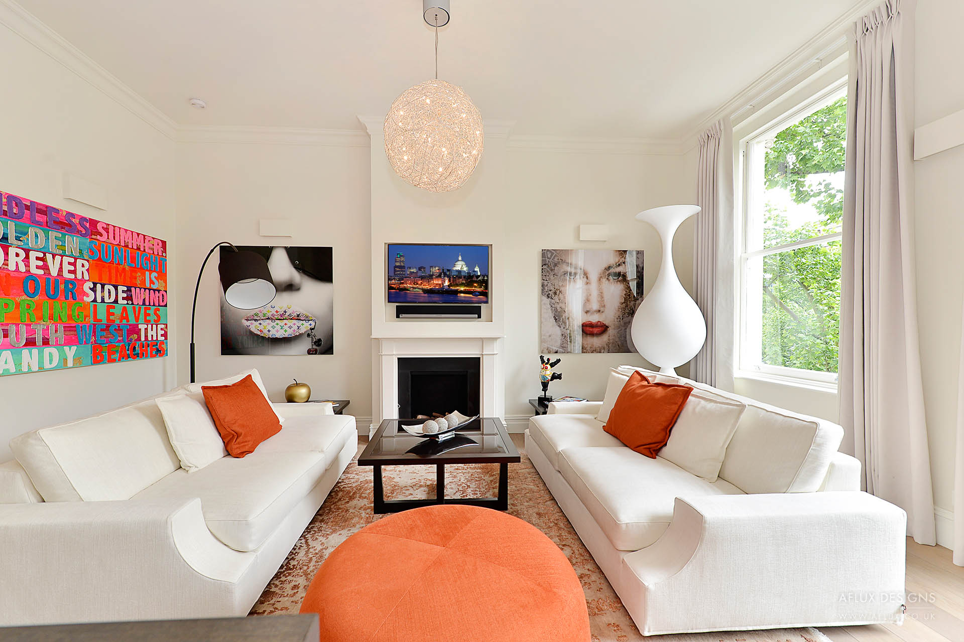 Queens Gate Two - LONDON SW7Our second project on this famous road in South Kensington, allowed us to create a large two bed two bath apartment on the second in a listed building for an investor looking to add value with both functional and aesthetic design.