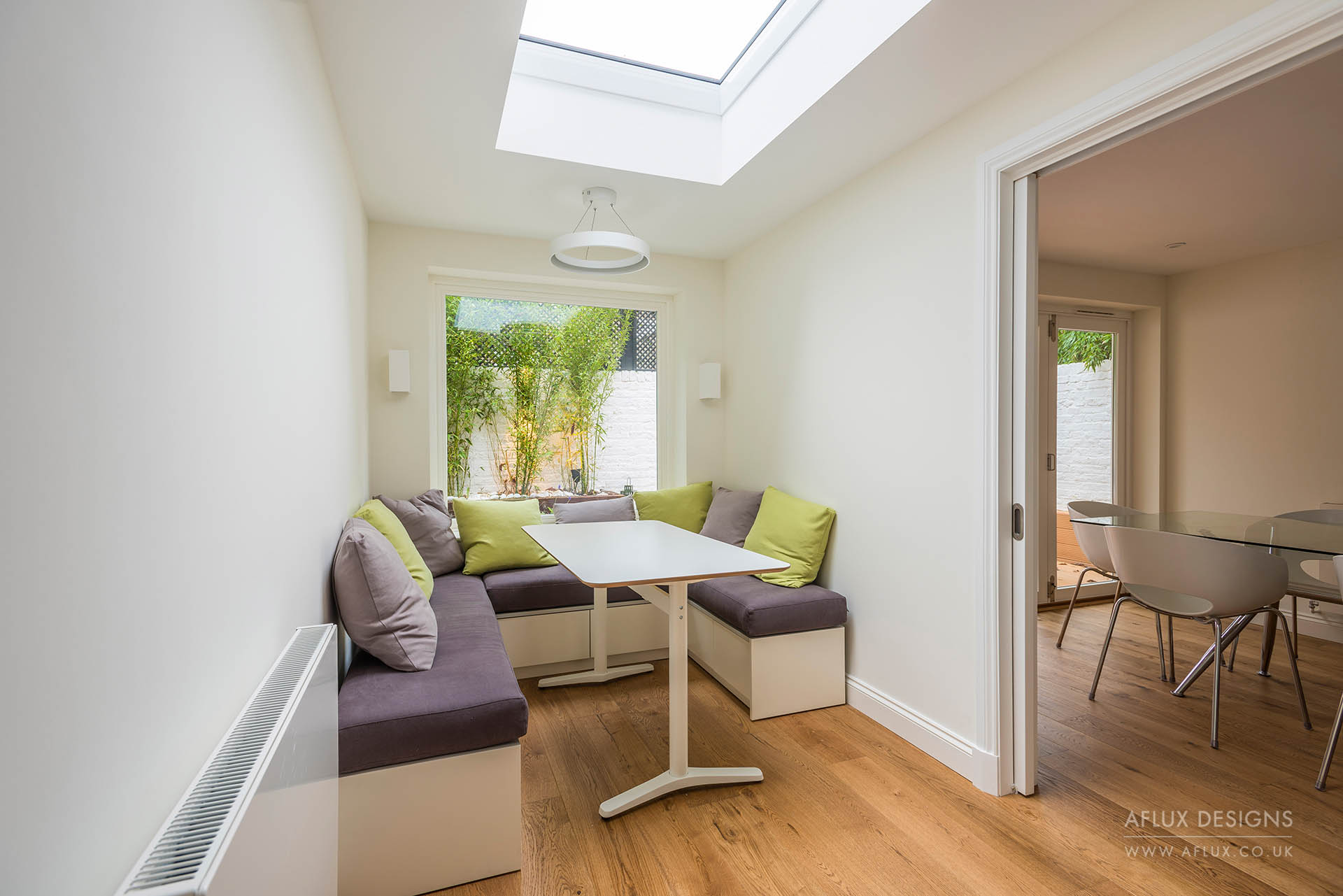 St Johns Wood - LONDON NW8Fully refurbishing, for a 'buy to let' investor, a tired mews house in St Johns Wood. Involving a rear extension and small patio to create a semi open plan ground floor with tidy and neutral finishes to the first floor.