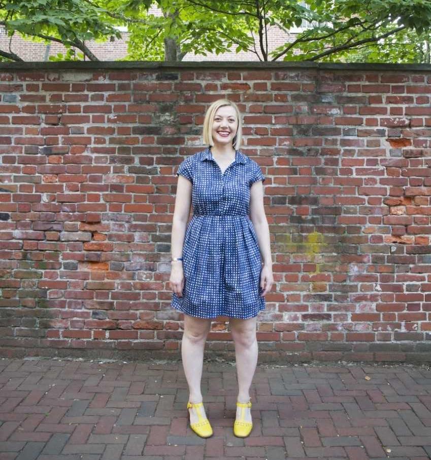 Hillary Rea photographed by Joanna Nowak