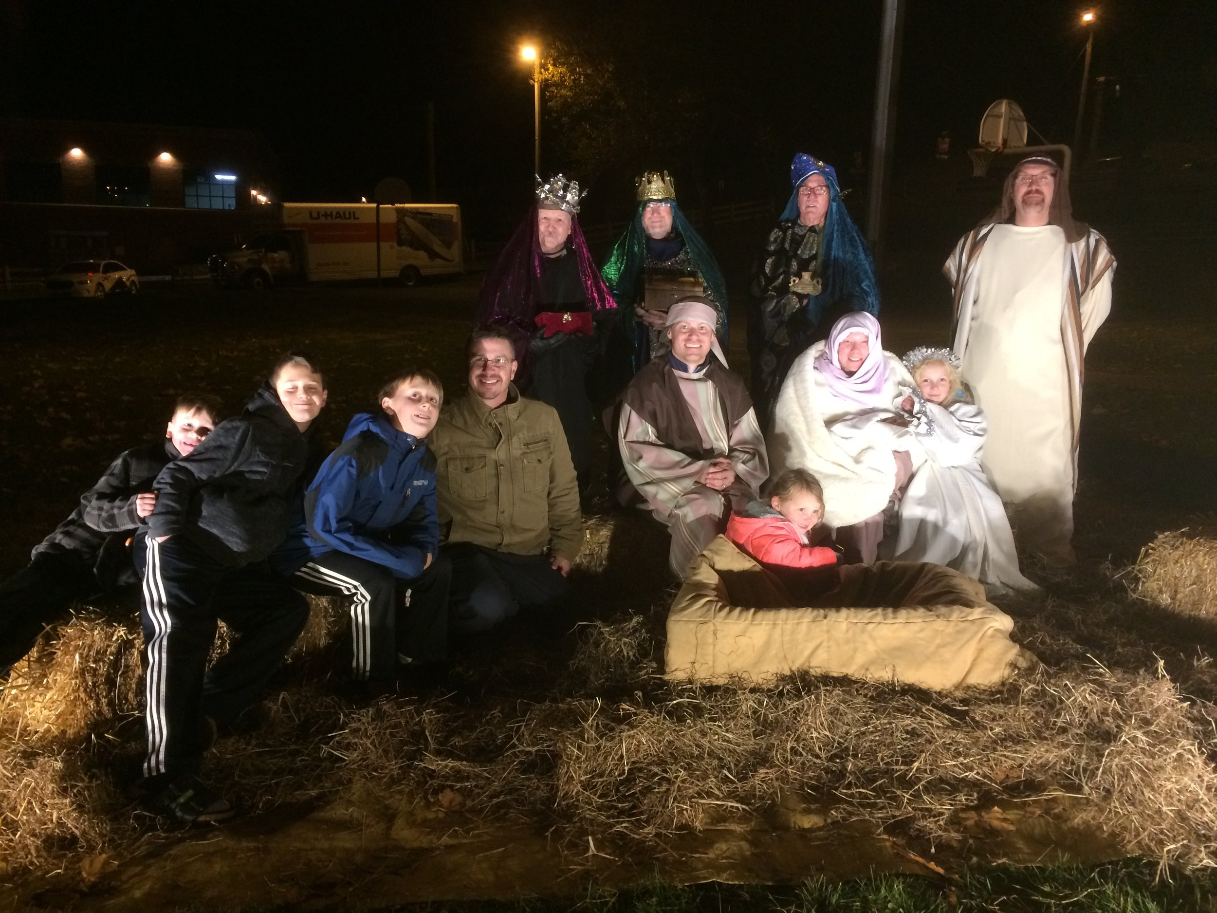 WGP Live Nativity at Xmas Stories in the Park 2017.JPG