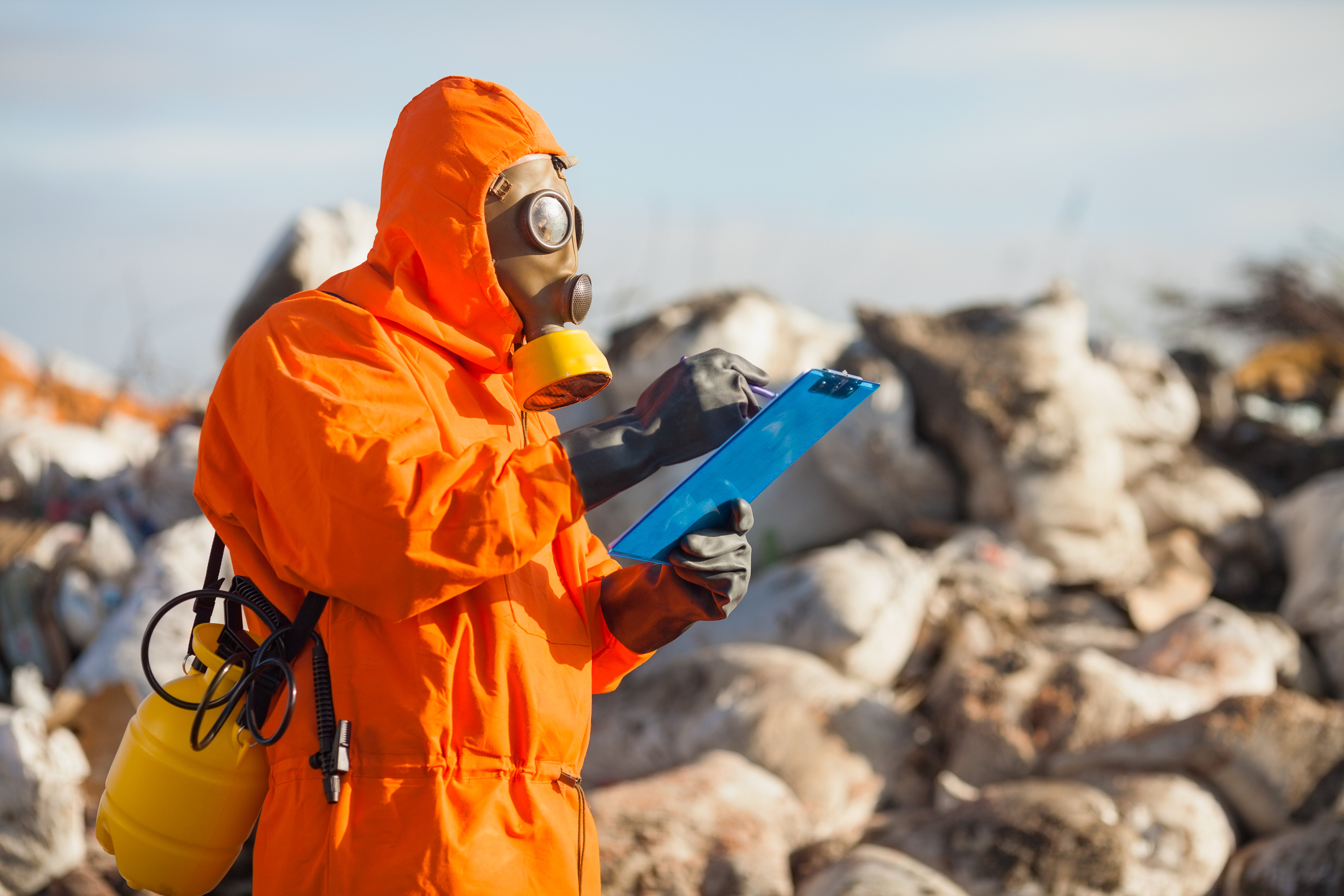 *click for details on hazardous waste site services
