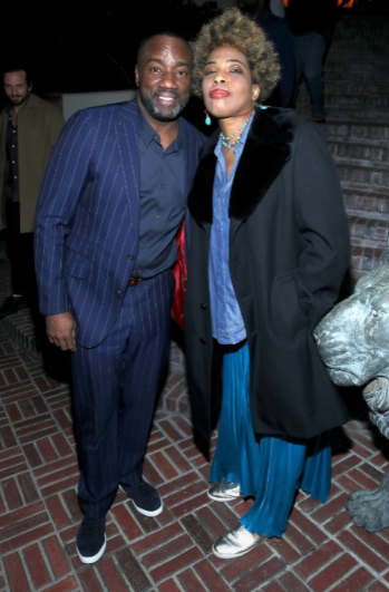 Malik Yoba and Macy Gray just before her performance spanning Radiohead's Creep to her classic I Try. Randy Shropshire/ Getty Images