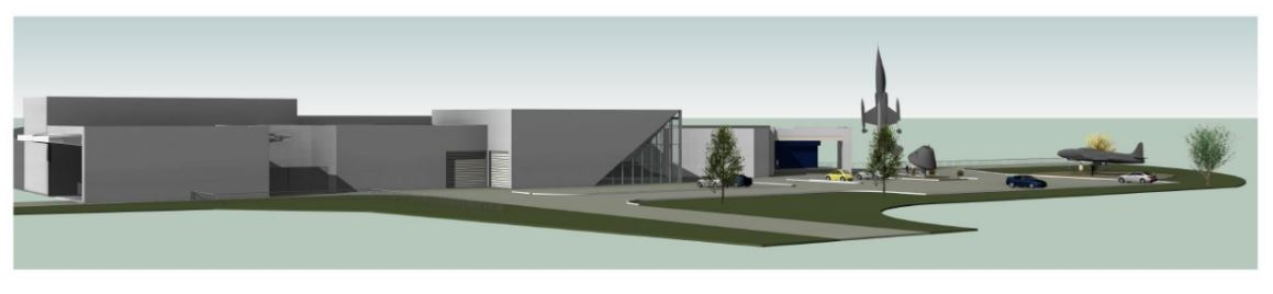 Proposed Rendering of Building Exterior