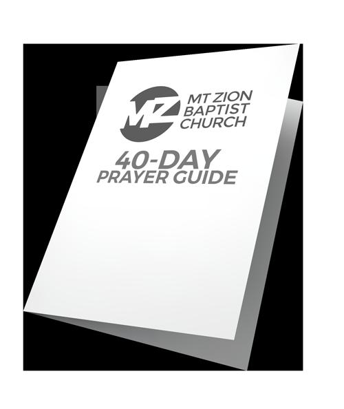 Download the Mt Zion Prayer Guide -