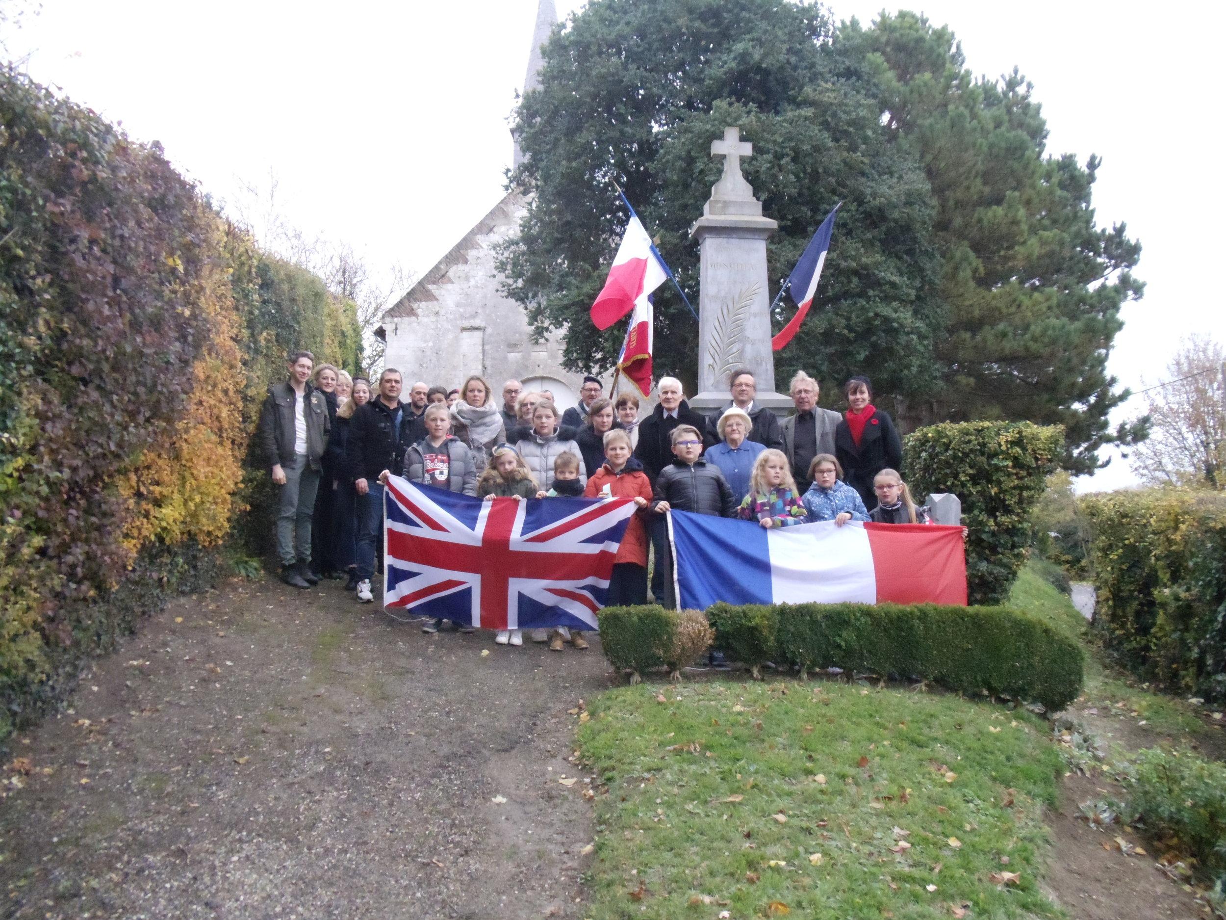 Remembrance Day 2018 - Village - France
