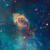 """""""Nebula"""" - """"Nebula"""" The word from which 'nebulous' originates: Astronomy - Gaseous Mass; Medicine: a clouded spot on the cornea causing defective vision . Now that fits very well……"""