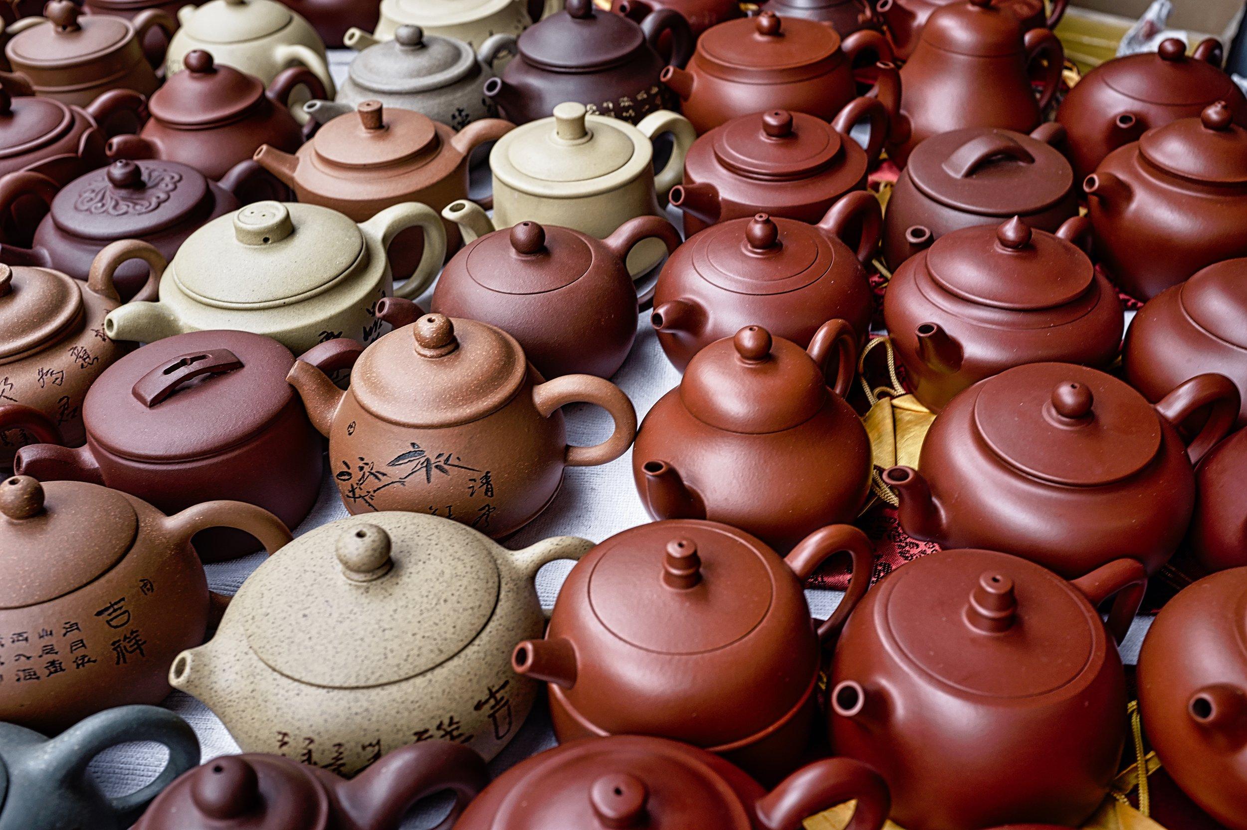 Chocolate teapots abound (Pic: @eprouzet)